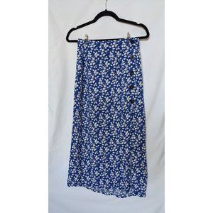 Abercrombie & Fitch Button-Front Maxi Skirt